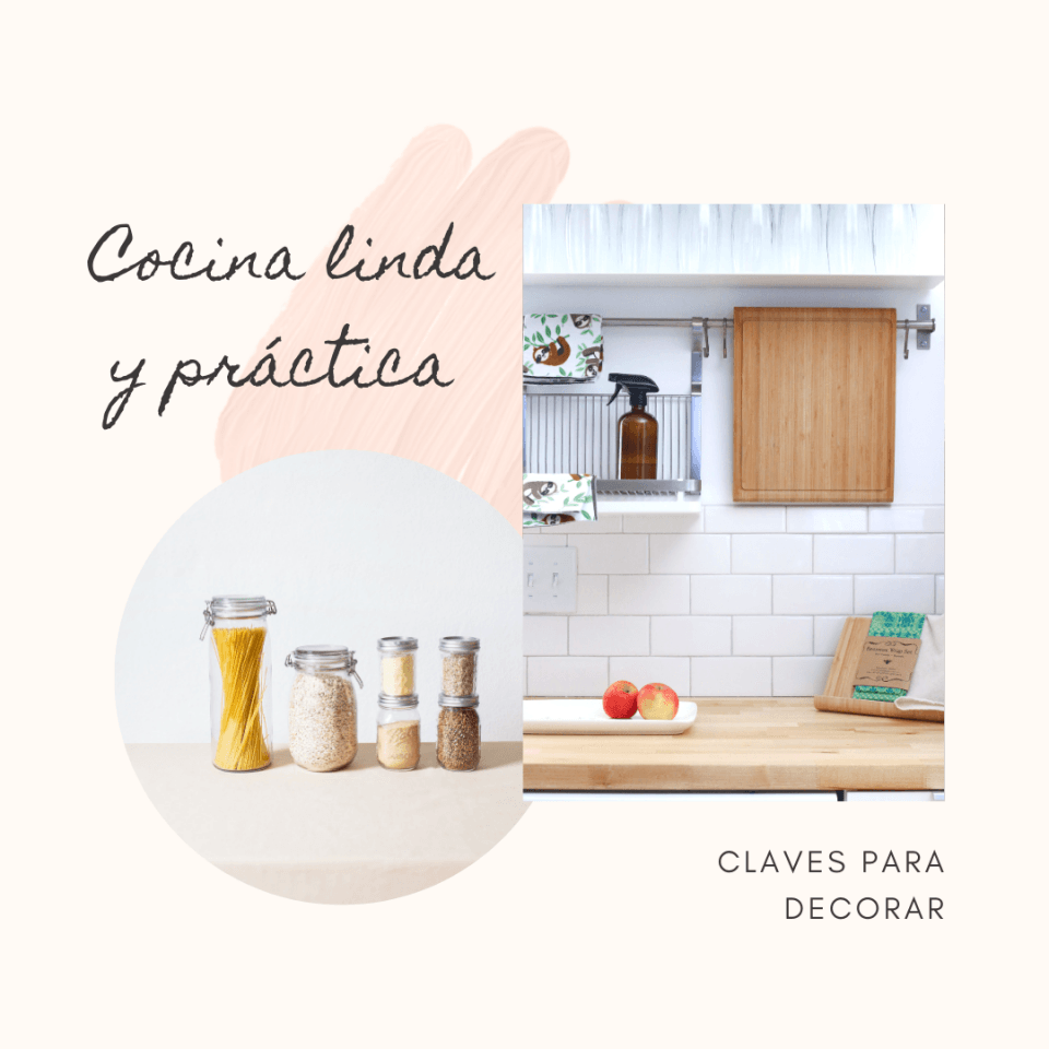 Cocina linda y práctica