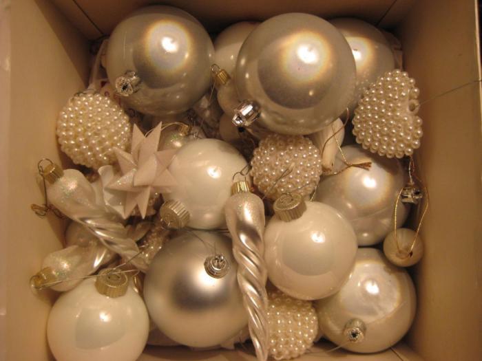 accesorios decoracion navidad blanco Accesorios para Decorar en Navidad