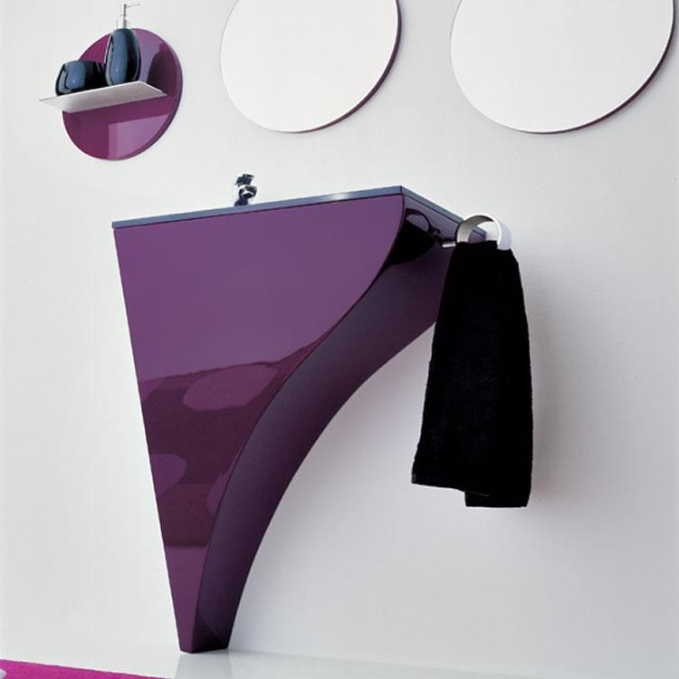 Moderno mobiliario para ba os peque os for Accesorios lavabo