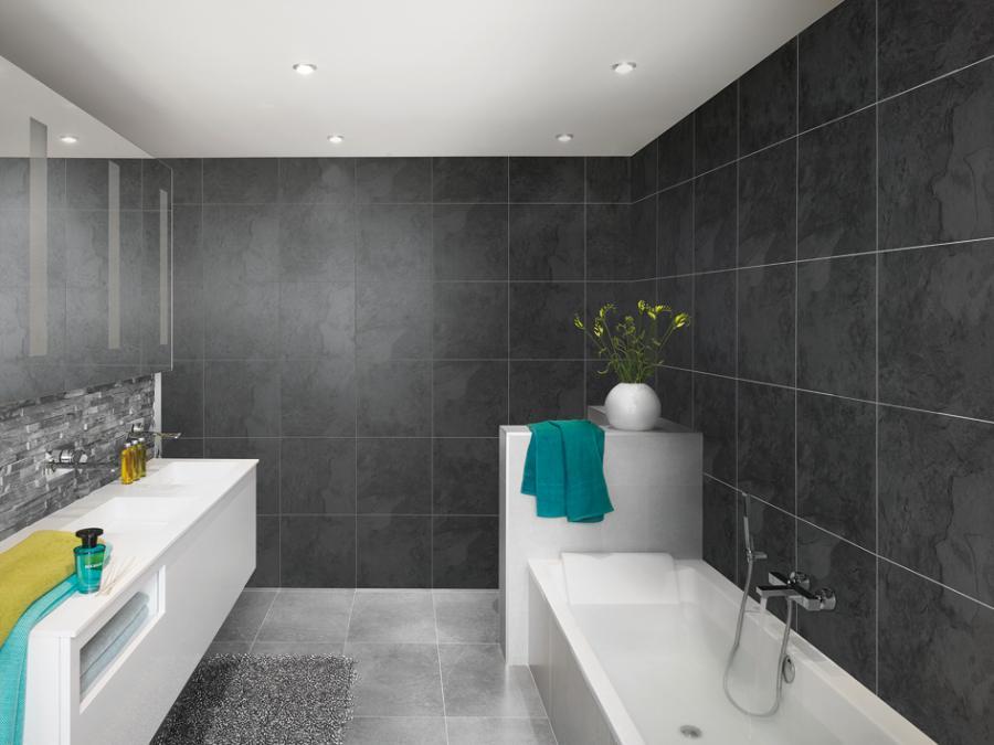 Actualiza cocinas y ba os con revestimientos sin obras for Revestimiento vinilico para paredes de banos
