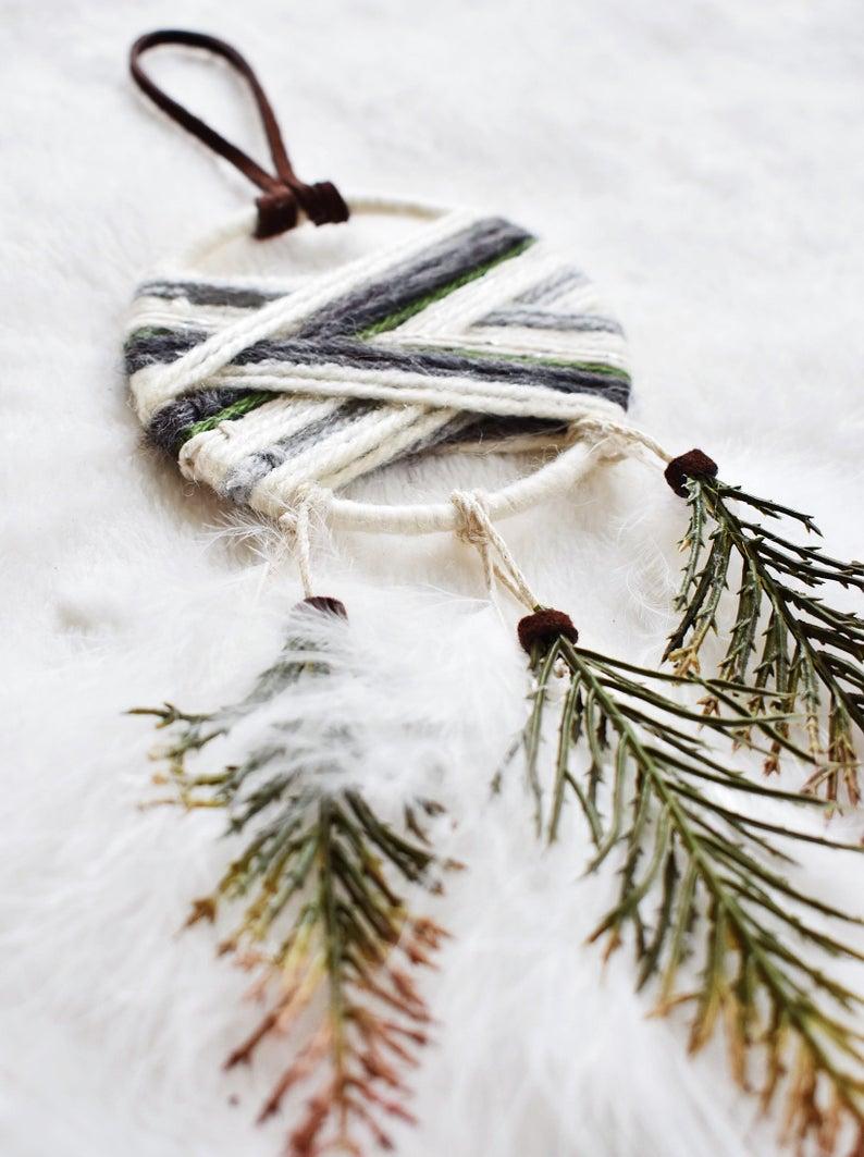 detalles navideños artesanales
