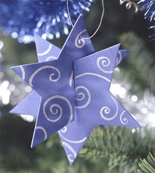 adornos forma estrella 2 Tips Decoración de Navidad   Adornos en Forma de Estrella