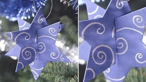 adornos forma estrella 3 Tips Decoración de Navidad   Adornos en Forma de Estrella