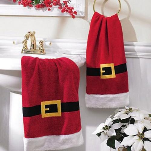 Accesorios Para Decorar El Cuarto De Ba O En Navidad
