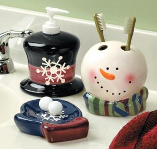 Admy3k decora tu ba o en esta navidad for Jaboneras para bano