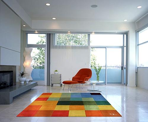 Alfombras con geometr a y color - Casa de alfombras ...