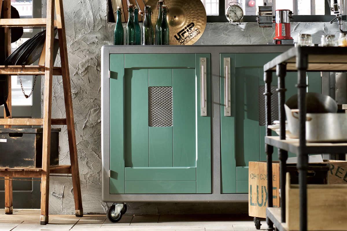 Mobiliario de cocina estilo vintage - Muebles de cocina estilo vintage ...