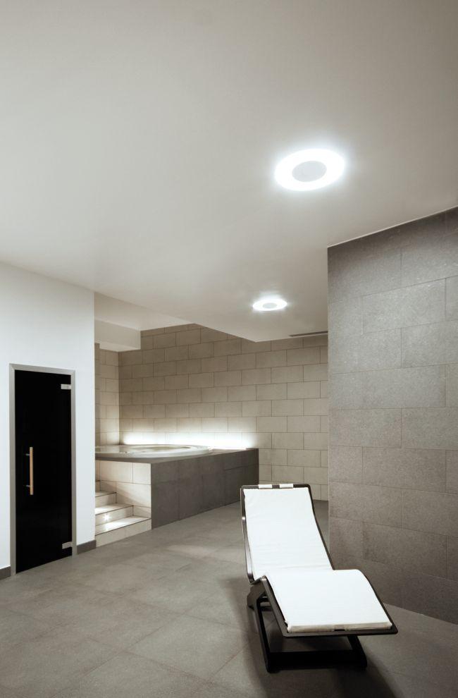 Anillo de luz para iluminar interiores modernos Interiores modernos