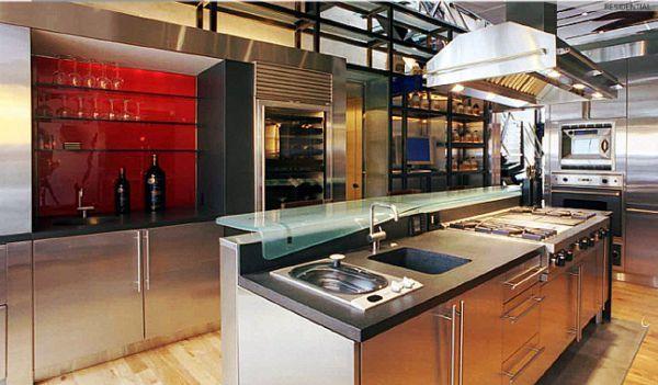 Apartamento Moderno y de Estilo Industrial