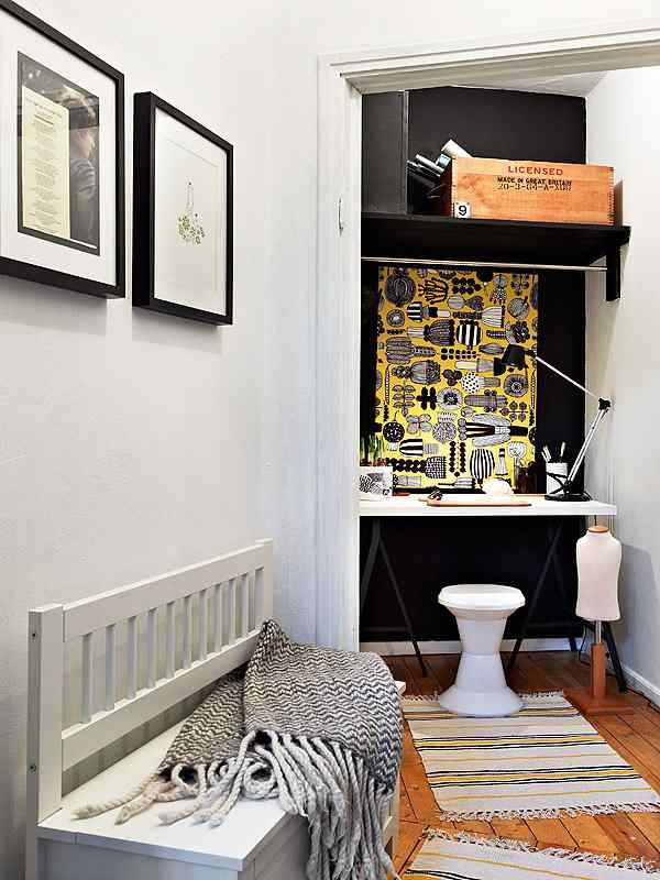 Apartamento moderno con soluciones para ganar espacio for Soluciones apartamentos pequenos