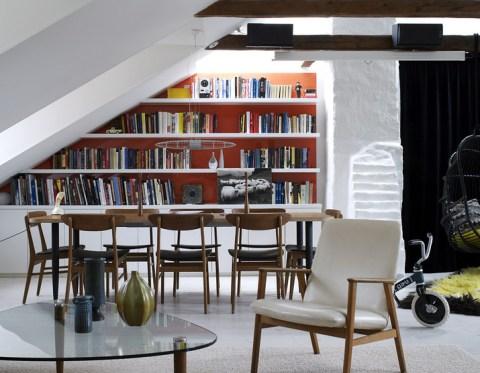 Aprovechar el espacio con estanter as y bibliotecas - Aprovechar el espacio ...