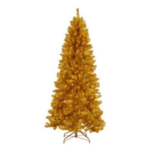 arbol de navidad alternativas dorado Coloridos Árboles de Navidad