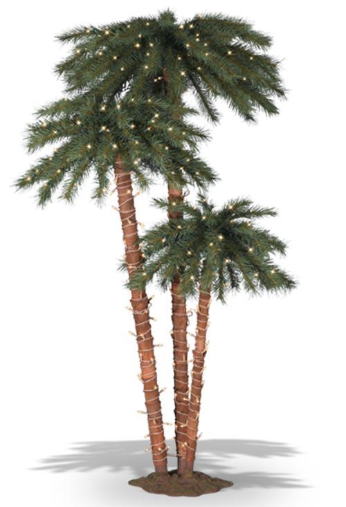 arbol de navidad alternativas palmera Árbol de Navidad: Alternativas Originales