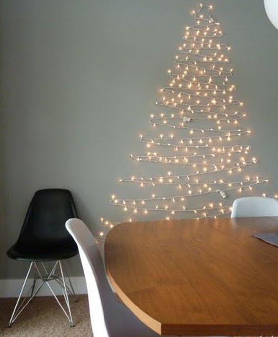 árbol de Navidad minimal