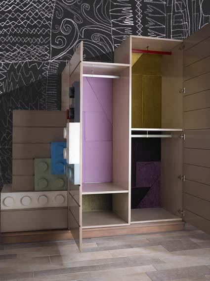 armario colorido