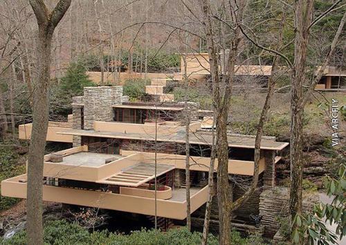 Arquitectura Casa de la Cascada