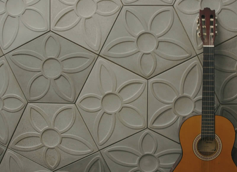 Baños Con Azulejos Rosas:azulejo de cemento con diseño de flores azulejos de cemento