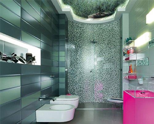 Azulejos baño modernos: revestimientos baldosas para el baño ...