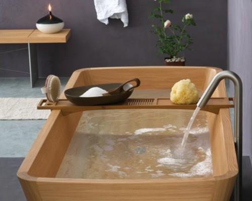 Accesorios De Baño Madera: de la calidez natural de la madera de Teca y Alerce dentro del cuarto