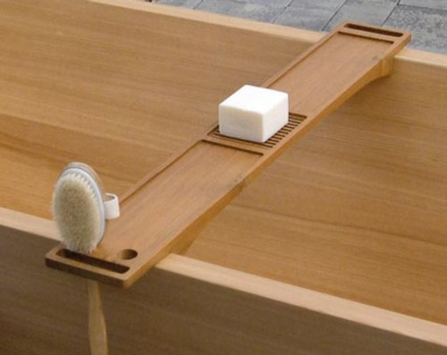 Sanitarios y accesorios para ba o de madera francoceccotti - Accesorios de bano en madera ...