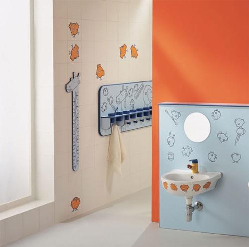 Baños Modernos Ninos:Baños para Niños con Diseños Coloridos y Divertidos