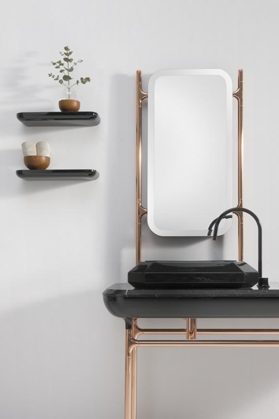 Baños con Inspiración Art Decó de Bisazza Bagno