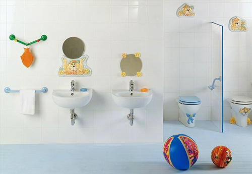 Diseno De Baños De Ninos:Baños para Niños con Diseños Coloridos y Divertidos