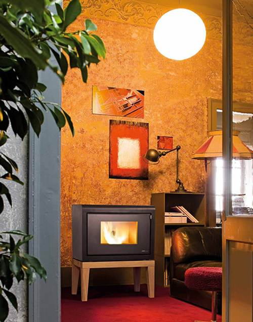 Estufas ecol gicas de pellets sin ventilaci n - Calefaccion casa ...