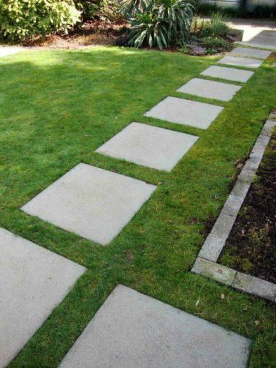 caminos en jardines