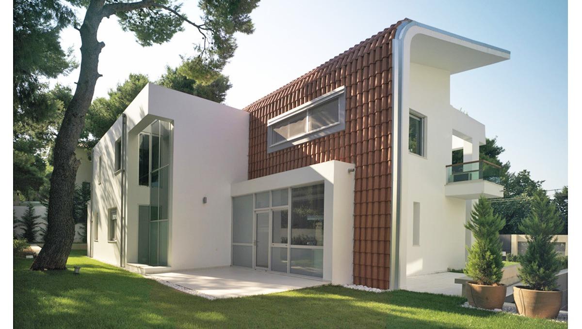 casa en Atenas con origial techo