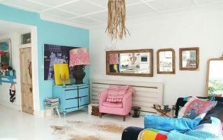 Casa con Decoración Ecléctica y Vintage