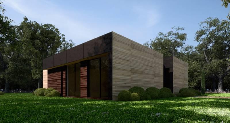 casas modulares Modelo A-cero