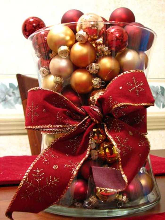 Decoracion Jarrones Para Navidad ~ Ideas de Centros de Mesa para Navidad Segunda Parte ?