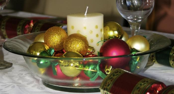 Ideas de centros de mesa para navidad segunda parte - Ideas de arreglos navidenos ...