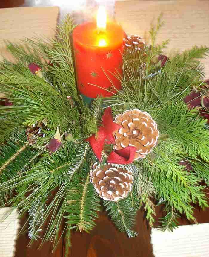 Ideas de Centros de Mesa para Navidad- Segunda Parte –
