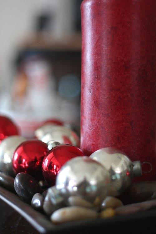 centro de mesa navidad velas bolas Ideas de Centros de Mesa para Navidad  Segunda Parte