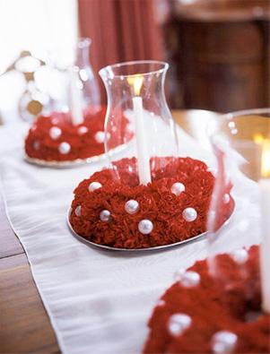 adornos de mesa de navidad
