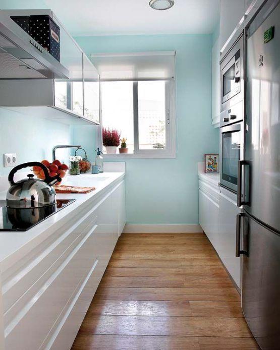 cocina corredor