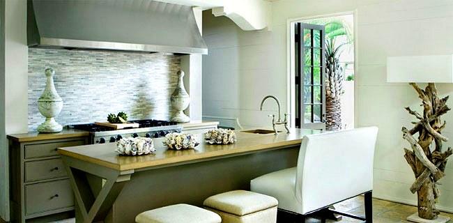 cocina decoracion elegante Decoración de una Cocina Elegante