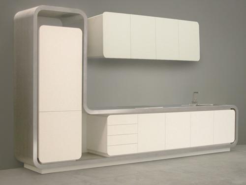Cocina minimalista para espacios peque os de strato for Espacios pequenos en casa