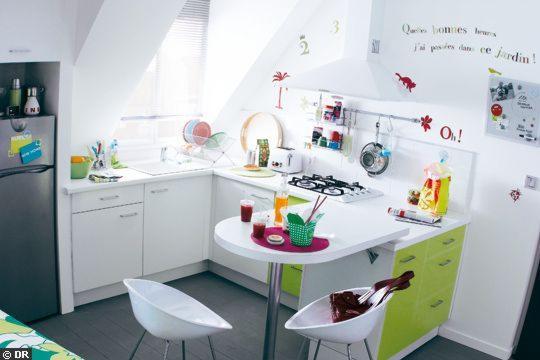 Decoraci n para cocinas peque as for Decoracion casas pequenas economicas
