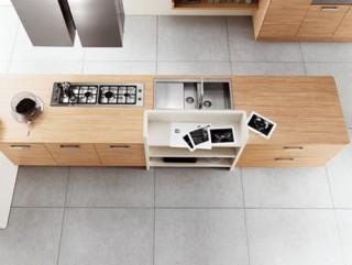 Cocinas de Diseño con Estantes