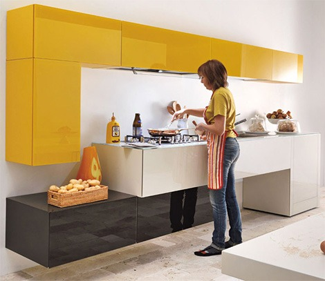 Creativos muebles de cocina a la carta
