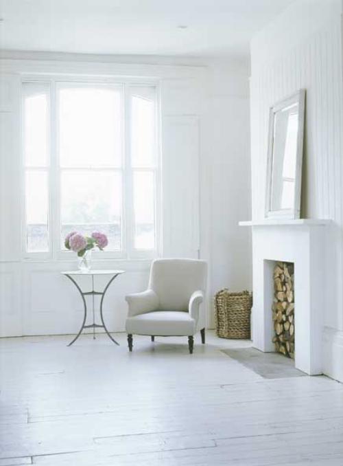 Color blanco en la decoraci n del hogar - Decoracion original hogar ...