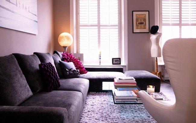 Efectos del color en interiores