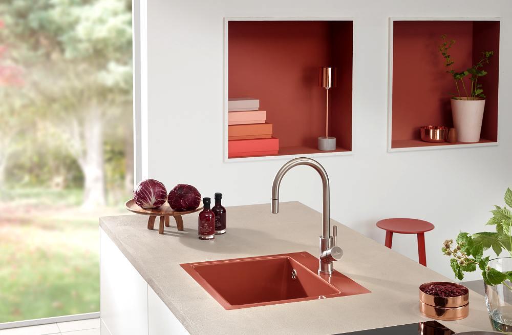 Dise o y tendencias en colores para cocinas - Colores de granito para cocinas ...