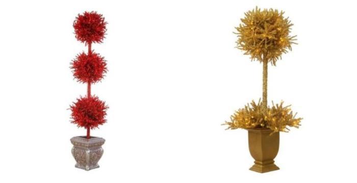 coloridos arboles de navidad 3 Coloridos Árboles de Navidad
