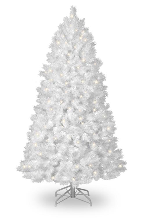 Arbol blanco de navidad preciosos dise os micromaster - Arbol de navidad en blanco ...