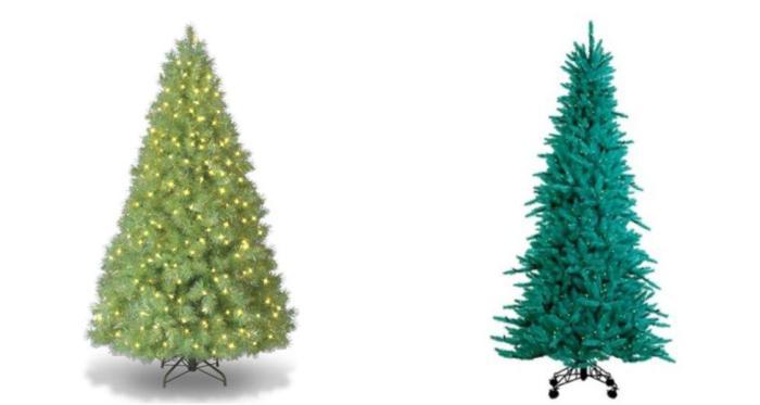 coloridos arboles de navidad gamas verde Coloridos Árboles de Navidad