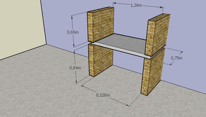 como construir parrilla 6 Cómo Construir una Parrilla   Parte I